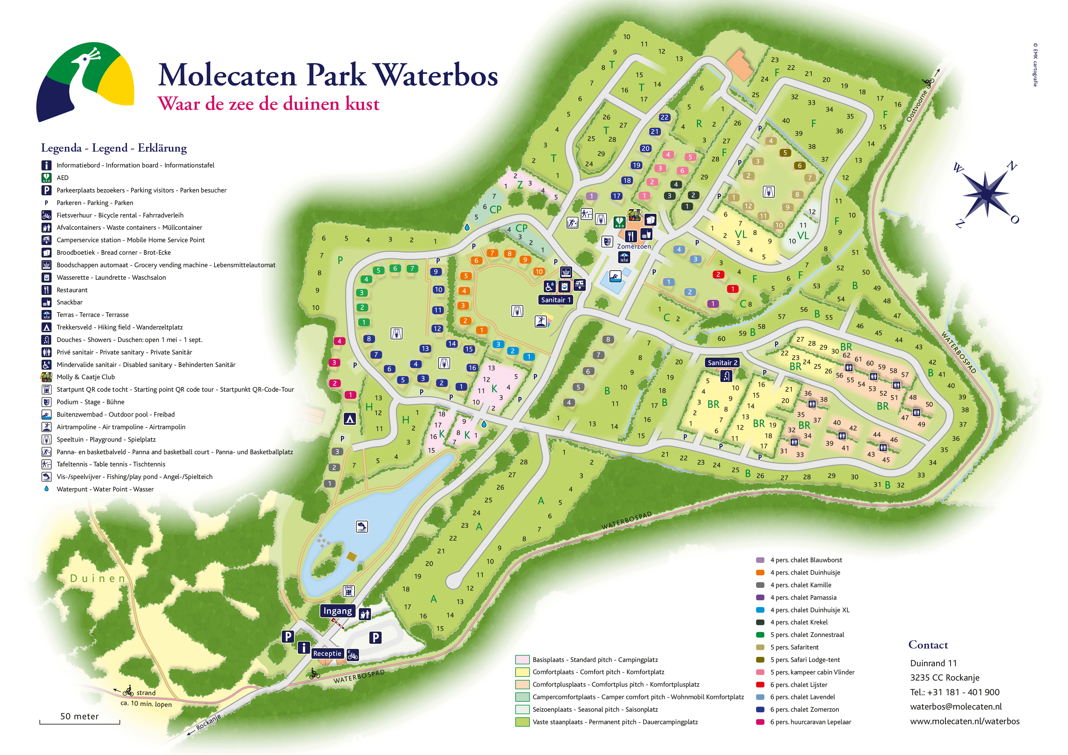 Molecaten Park Waterbos accommodation.parkmap.alttext