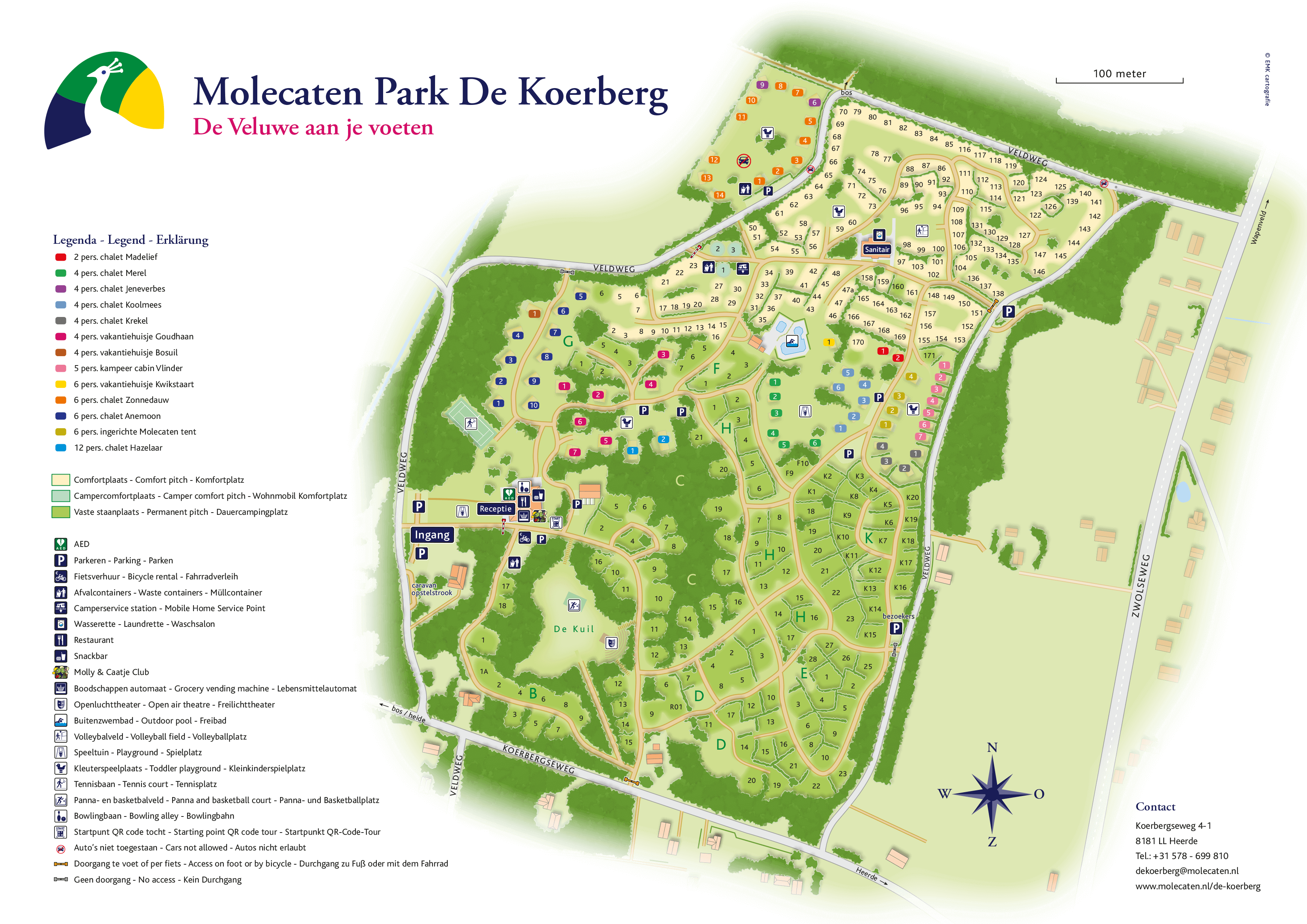 Molecaten Park De Koerberg accommodation.parkmap.alttext