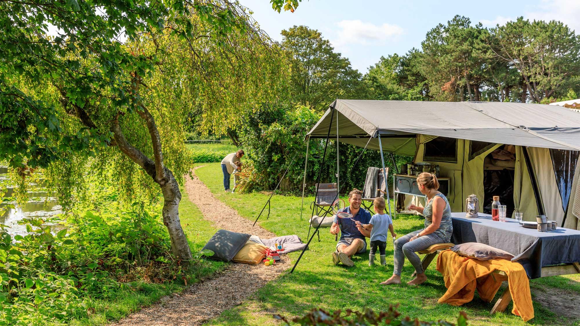 Huren of kamperen op Molecaten Park Waterbos in Rockanje